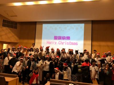 長榮大學聖誕音樂禮拜 傳遞平安與愛