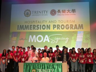 前進亞洲頂大 長榮大學東南亞學程大二生到菲律賓三一大學進行境外學習