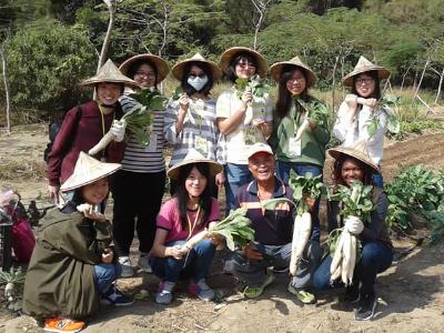 體驗台灣農村文化  長榮大學環教學院學生寒假收穫滿溢