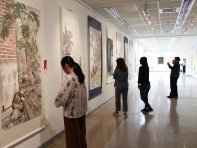 結合學術與市場 2019長榮大學書畫藝術系美展19日開展