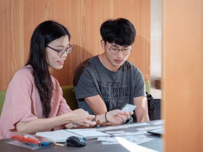 首位持華語文中心入學通知   韓國高彰潤到長榮大學習華語