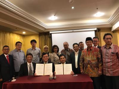 推廣無人機技術發展 長榮大學與印尼特利剎蒂大學簽訂教育合作備忘錄