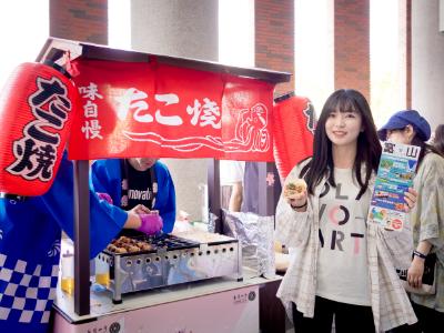 日本富山DQS進駐台灣第一間店面在長榮大學  12-14日暖身試賣