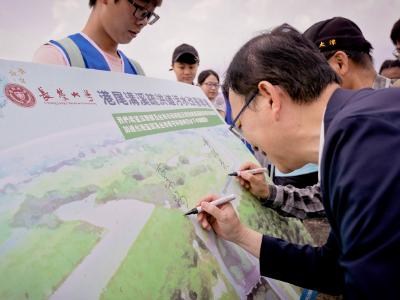 響應世界地球日 長榮大學舉辦「根與芽計畫河川走讀」
