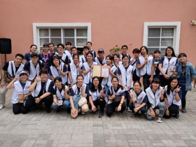 「讓愛去旅行」學生學習組號召師生德蘭啟智中心志願服務
