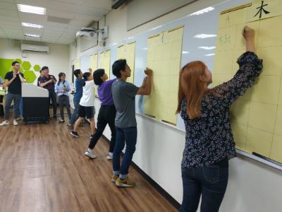 華語中心辦理漢字競賽與交流 闖關互動提高學習動機