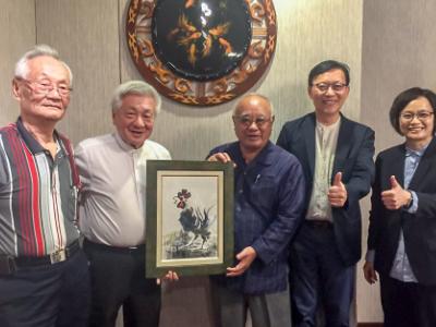 宮古島市政廳到訪長榮大學   台日交流更緊密
