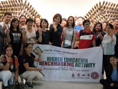 促進國際交流 菲律賓Cative State University大學蒞校參訪
