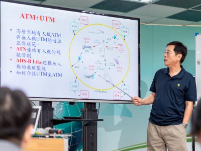 長榮大學無人機中心通過科技部「先導型產學計畫」 開發「階層式遙控無人機飛航管理(UTM)系統」