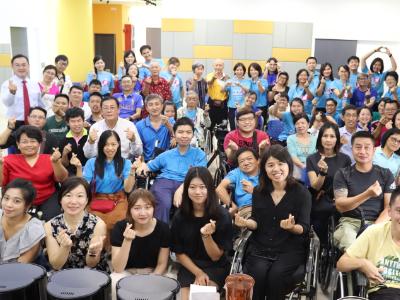 長榮大學與馬來西亞「美門殘障關懷基金會」合開咖啡工作坊 協助身障朋友打造創業的一片天