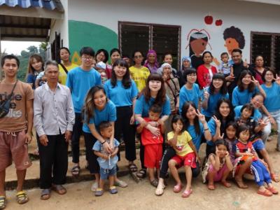 用生命陪伴生命 長榮大學國際志工前進泰北服務學習