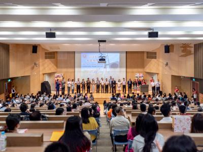 長榮大學108學年度「考試分發新生與家長說明會暨報到」校園湧入千餘人