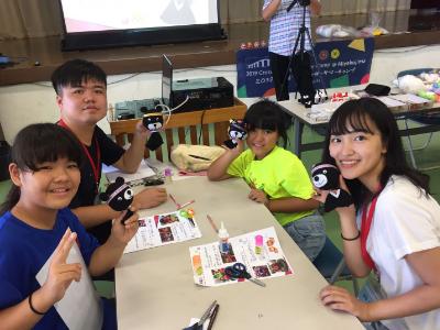 長榮大學跨界夏令營  與宮古島狩俣小學台日手作交流  大獲當地肯定