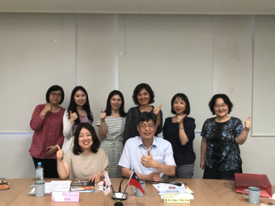 Strengthening Taiwan and South Korea Exchange-- South Korea's Hosan University Visits To Discuss Cooperation