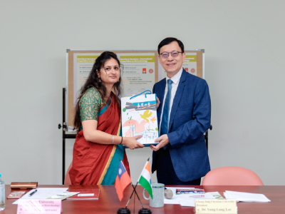 Indian sister school Chandigarh University visits Chang Jung Christian University to strengthen biomedical research and environmental education exchange