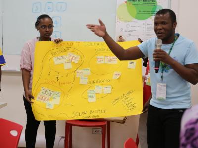 「為了下一代」   長榮大學舉辦環境永續設計思考工作坊