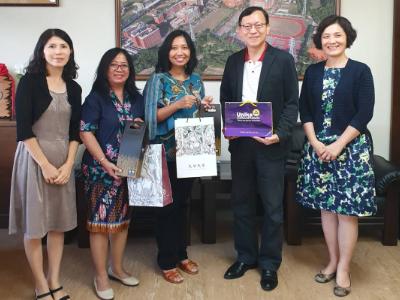 強化交流合作 印尼姊妹校Soegijapranata Catholic University教師蒞校參訪