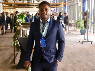 永續學程國際生Jackson Simon Lusagalika  非洲研究國際研討會榮獲首獎
