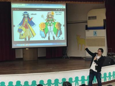 啟發動漫視野 角川國際動漫製作事業部部長羅際明分享動漫創作之路