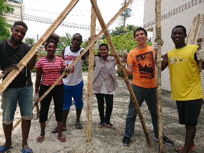 建構資源循環體系 長榮大學與社區共同改造資源回收站