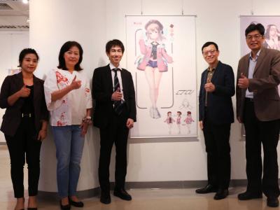 動漫風席捲校園   長榮大學舉辦Vtuber角色設計大賽與角川國際動漫教育5週年特展