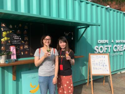 日本富山美食   可麗餅、霜淇淋、香蕉鮮奶15日在長榮大學開店販售