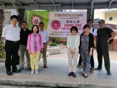 Promoting 'Teaching in English' & Strengthening English ability—Staff & students traveled to Philippines for English training in Trinity University of Asia