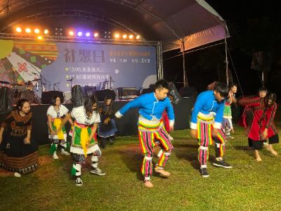 2019長榮大學社聚日 傳統競技競賽展現原民文化特色