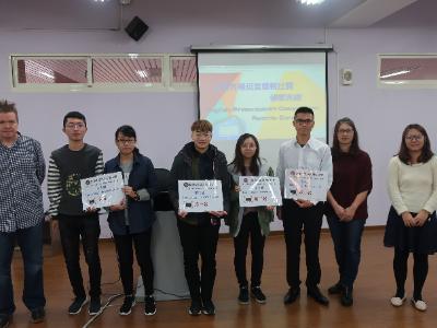 長榮大學語文中心舉辦英語簡報比賽 護理系榮獲個人A組及團體A組第一名
