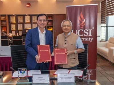 長榮大學與馬來西亞UCSI大學締結姊妹校