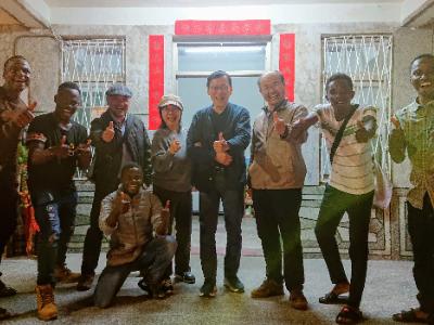 攜手幸福路上 長榮大學與大潭林子邊居民歡度新春活動