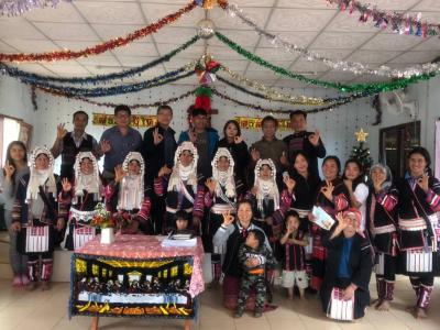 長榮大學USR HUB跨國整合計畫  到泰北阿卡部落進行咖啡豆調查