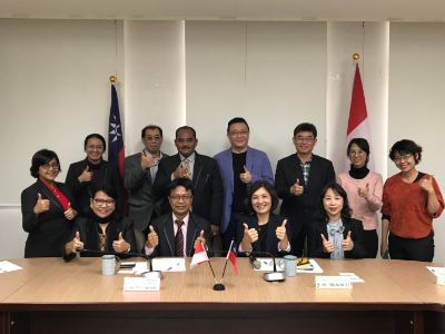 印尼姊妹校UAJY到訪長榮大學  學生修課教師進修更便捷