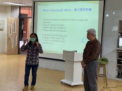 長榮大學武漢肺炎疫情衛生教育  國際生收穫豐碩