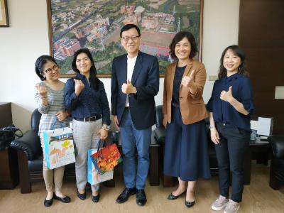 菲律賓觀光部台灣分處處長蒞校參訪 鏈結台菲多方合作