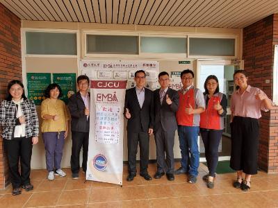 櫃買中心參訪長榮大學EMBA   爭取創櫃板推薦單位申請