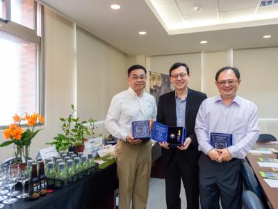 長榮大學蘭花產業應用學程  業師傳承接軌國際  培育跨國蘭花行銷專家