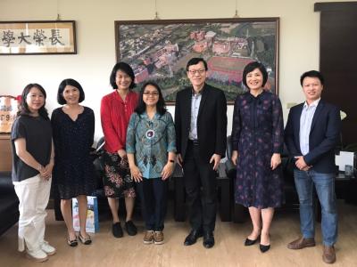 韓國東新大學諮商心理系教授蒞校研究   推動兩校合作交流