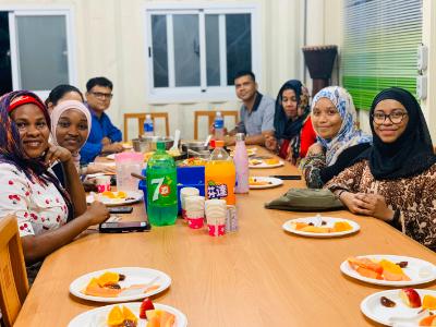長榮大學舉辦齋戒月開齋飯聚會 凝聚國際穆斯林學生情誼