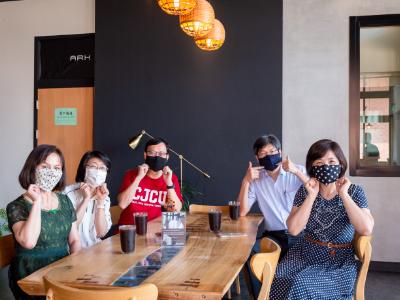 創造循環經濟 長榮大學方舟美好生活事業開發環保時尚口罩套 5月22日於社企市集熱賣