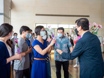 長榮大學「疫起努力  感謝有你」  邀請你寫下對防疫工作人員的感謝
