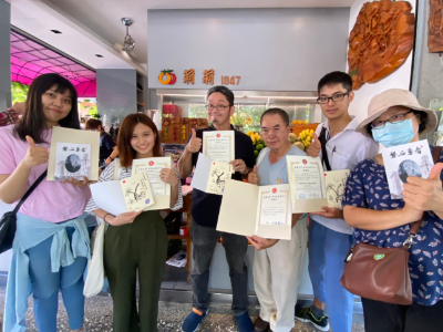 長榮大學華語中心與神戶學院大學合作華人文化直播課程 府城市景動態同步體驗