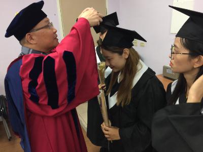 長榮大學國會展學程舉辦第二屆畢業生畢典 展現會展人員專業力