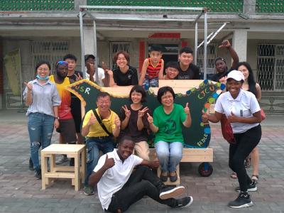 綠能永續 長榮大學與社區共造太陽能餐車