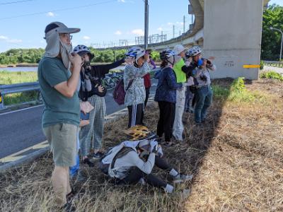 拿起手機成為公民科學家!長榮大學與社區攜手賞水雉 進行林子邊鳥類調查