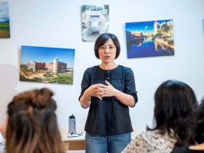 長榮大學舉辦午餐共學交流 國際長李敏瑜:國際化就是跨文化理解
