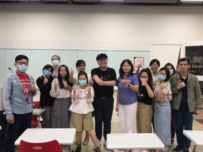 增進宣傳力   冒牌生到長榮大學分享IG發文技巧