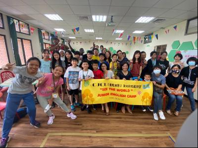 從長榮大學看向世界  華語文中心辦兒少文化交流英語營