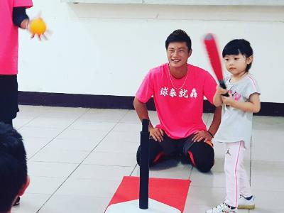 「大手牽小手 體驗棒球樂」長榮大學U-start計畫運技系子曜宏創業團隊 舉辦兒童棒球夏令營