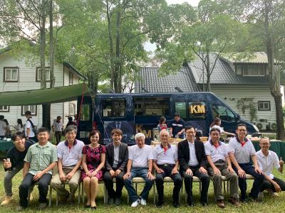 發揮企業社會責任  長榮大學EMBA與KM行動餐車對話
